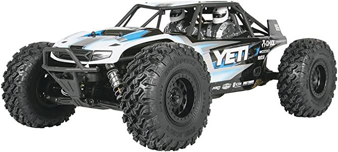Axial Yeti Rock Racer Kit de 4 x 4 sin montar controlado por radio 1/10 Escala tracción regulador de camión