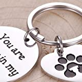 Pet Memorial Gifts Keychain for Pet Dogs Owner