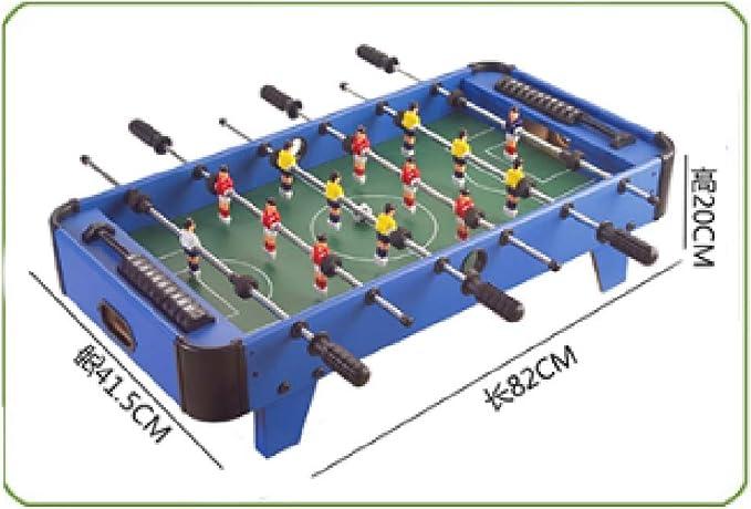 YQSHYP Mini Futbolín, Pino Laminado combinación Estable del Juego Family Table máquina de Entretenimiento Cuarto de Juegos de fútbol Tamaño 41.5 * 82 * 20 Cm: Amazon.es: Deportes y aire libre