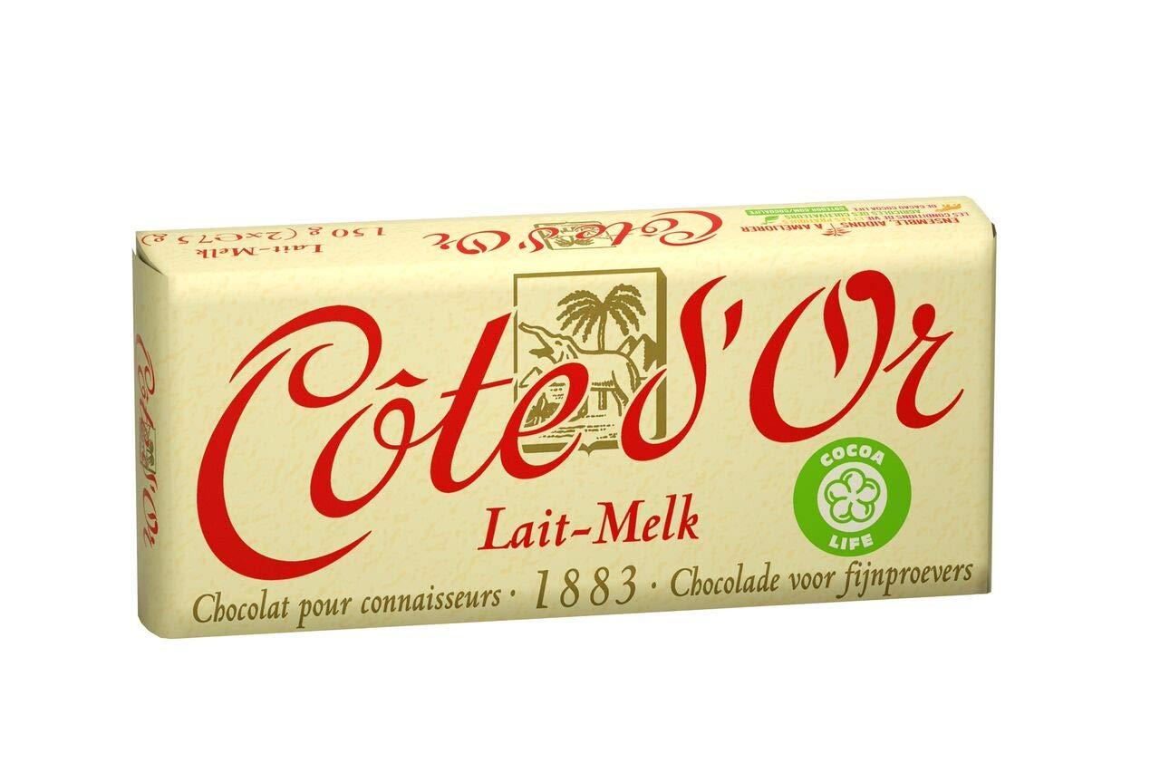 Cote d'Or - Milk Chocolate (33% cacao) (Premium Belgium Chocolate) (5.3 Oz.) [PACK OF 3]