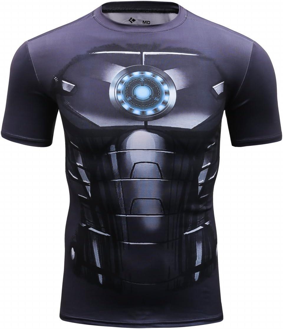 Cody Lundin Mens Compression Armor America Hero Logo Fitness Run Sports Shortsleeve T-shirt