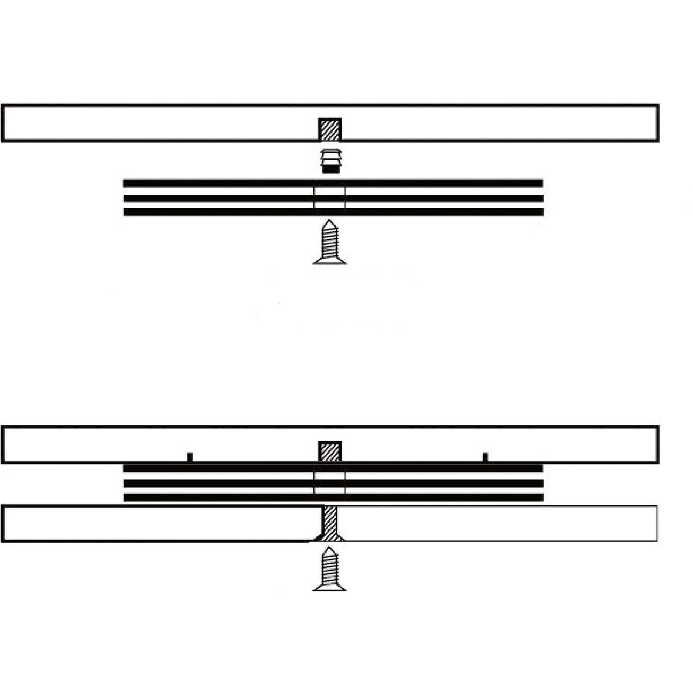 /Charge maximale 80/kg de t/él/évision gedotec/®-Plateau avec couronne rotatif M8/filetage /à vis/ drehbesc hlag avec plaque tournante /Ø 160/mm Produit de quali /Plastique Noir/