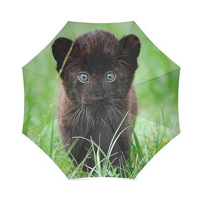 Custom Farm Theme Compact Travel Windproof Rainproof Foldable Umbrella