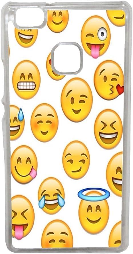 Aux Prix Canons - Coque Compatible Huawei P9 lite Smiley Emoticone