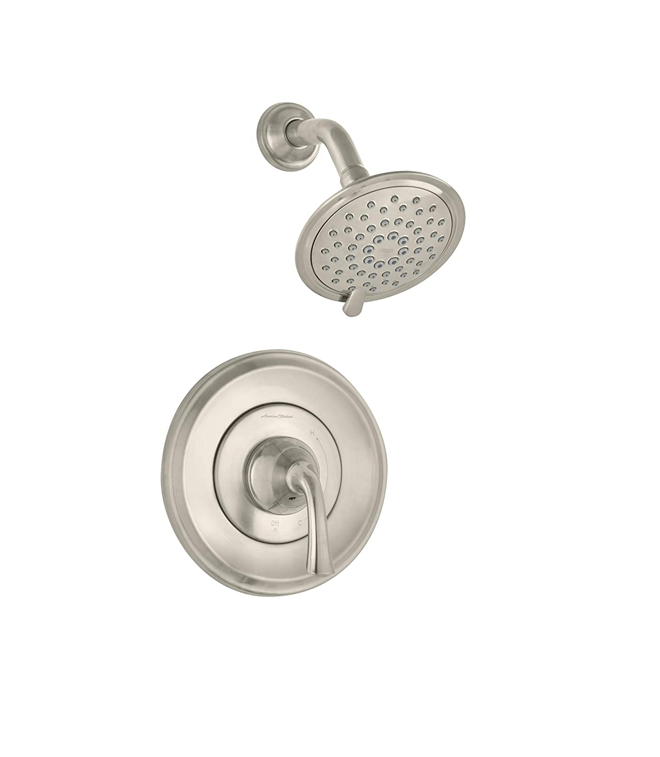 American Standard TU106501.278 Patience Shower Only Trim Kit with Cartridge Legacy Bronze