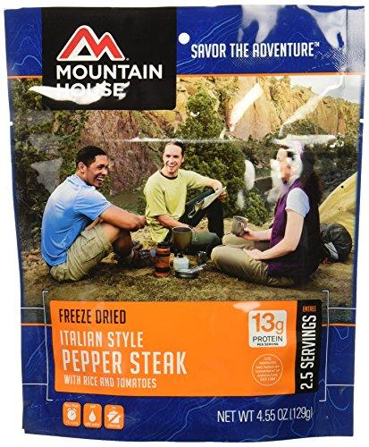 Mountain House Italian Style Pepper Steak