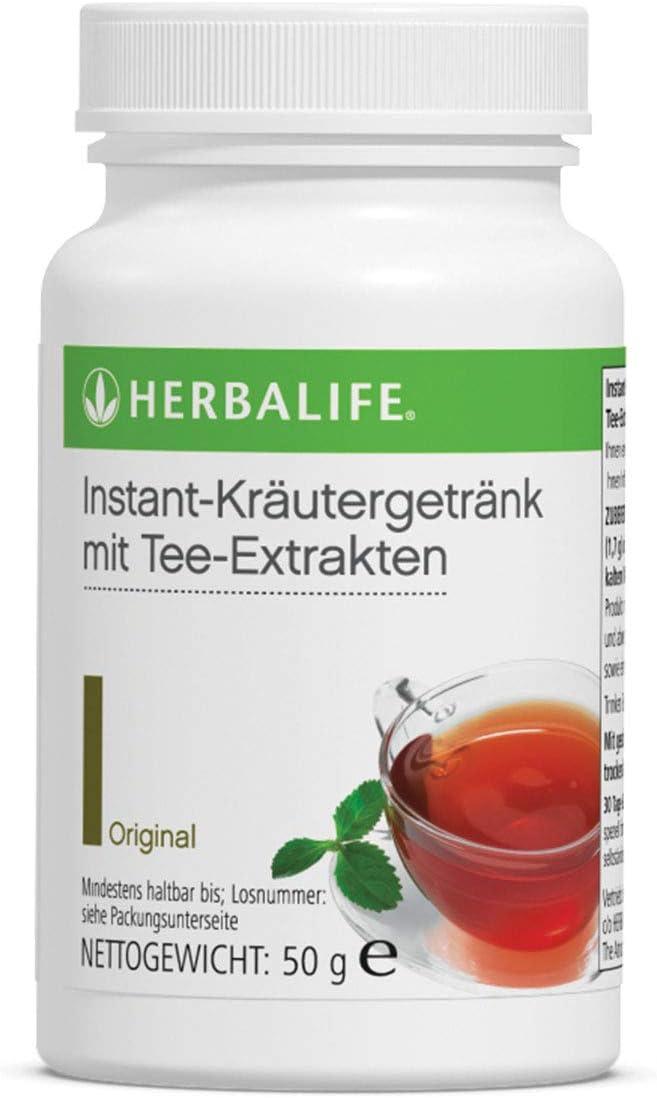 HERBALIFE NUTRITION Bebida Instantánea a base de extracto de Té Original y Plantas Aromáticas Bajo en Calorias - 50 g