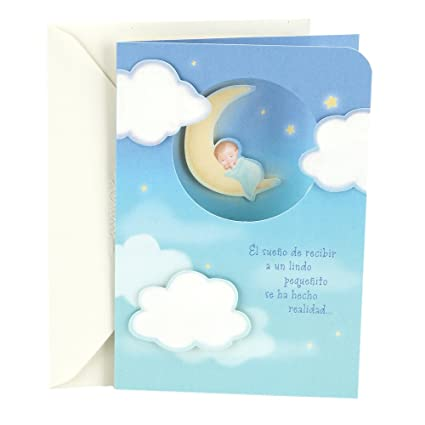 amazon com hallmark vida spanish congratulations greeting card for