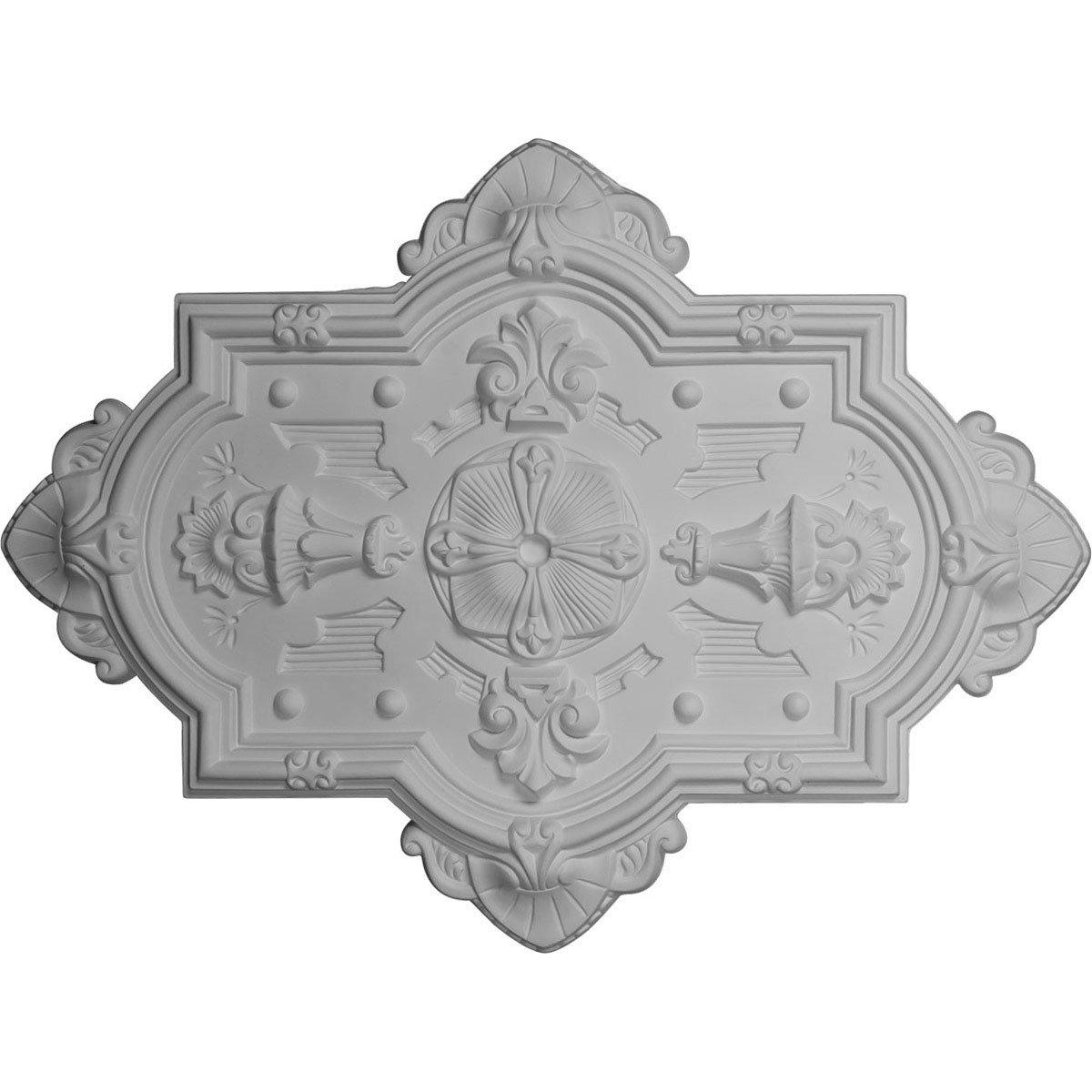 Ekena Millwork CM29X38CA 29 1/8-Inch H x 38 1/8-Inch W x 1 3/4-Inch P Cathedral Ceiling Medallion by Ekena Millwork