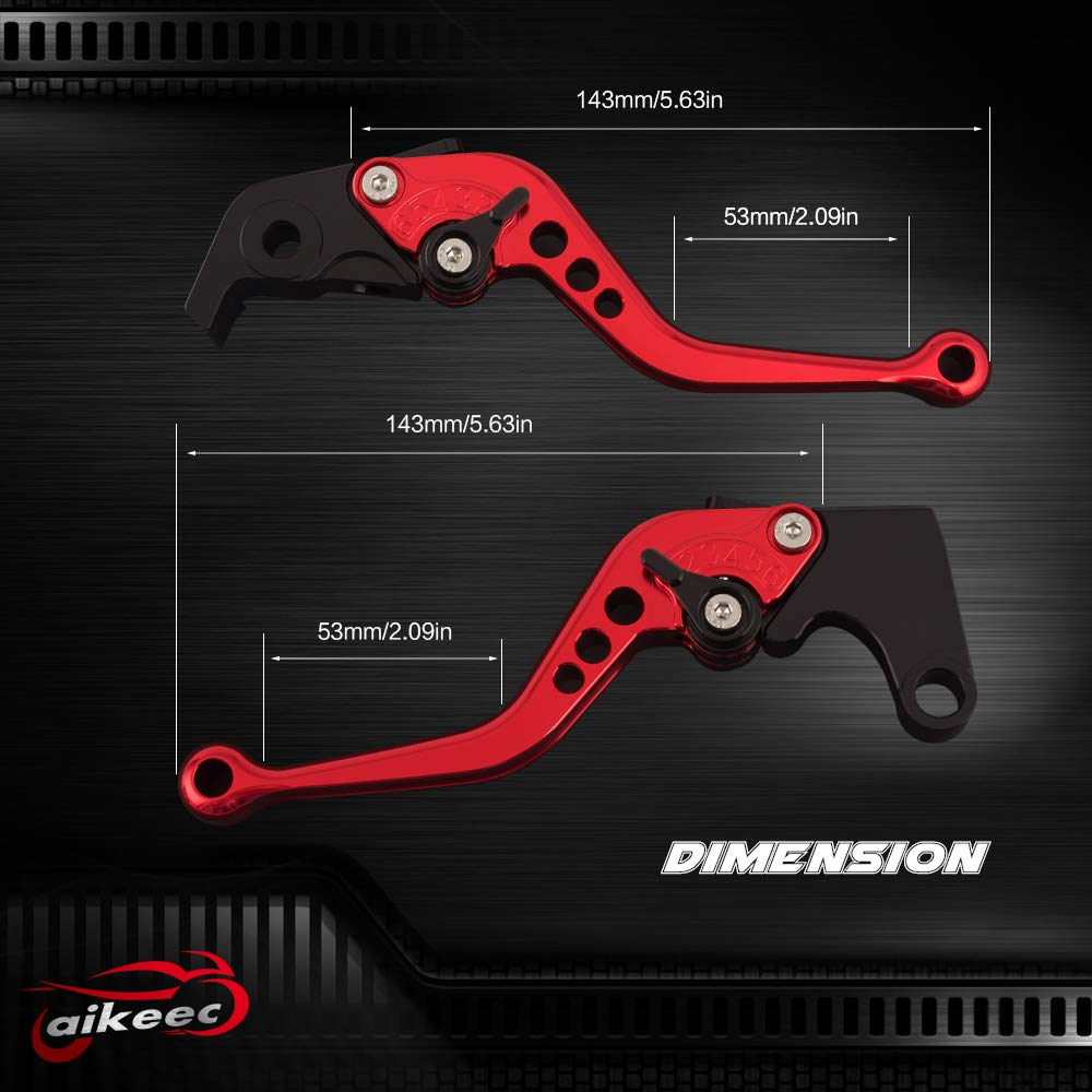 Motorcycle CNC Brake and Clutch Levers Short Adjustable Brake Clutch Levers For GSXR600 2011-2017,GSXR750 2011-2017,GSXR1000 2009-2017