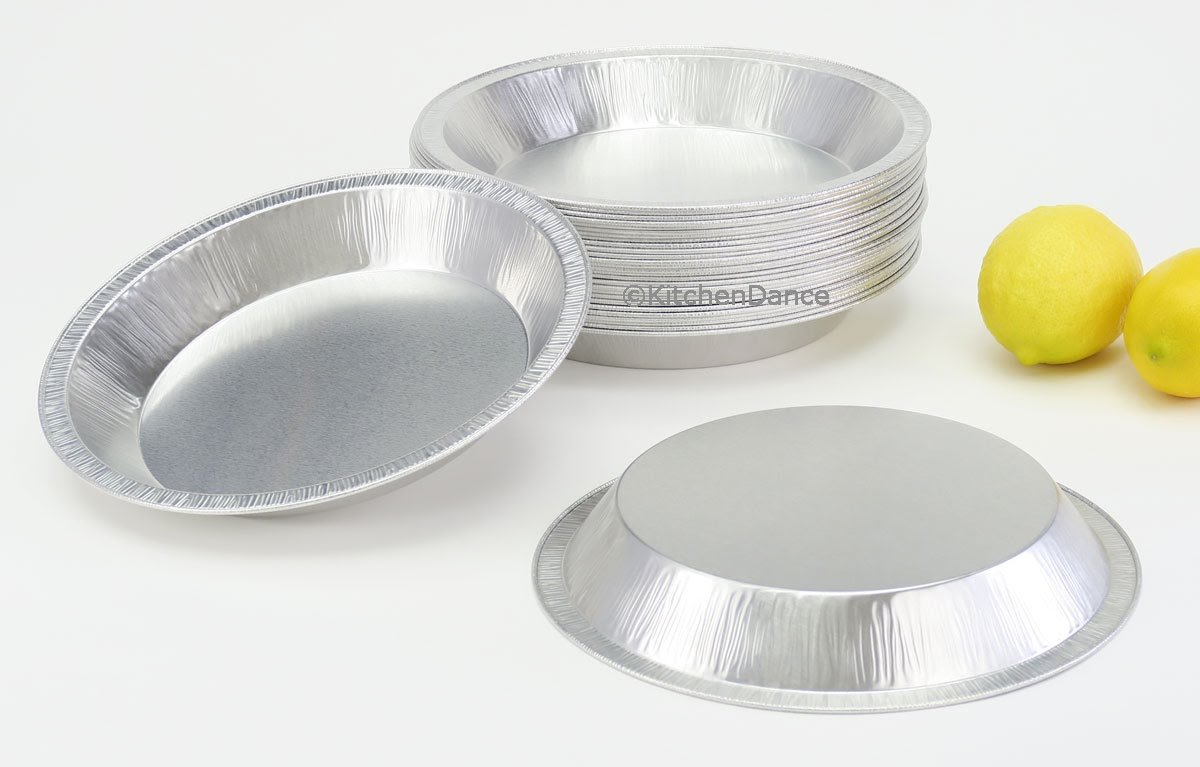 Disposable/Reusable Heavy Duty Aluminum 9'' Pie Pans #922- 24 oz Capacity (200) by Chief (Image #2)