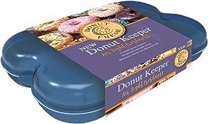 Donut Fresh Container - 6 Fresh Donut Keeper & Airtight Storage