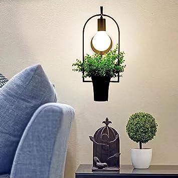 Apliques de exterior Lámpara de pared creativa Dormitorio ...
