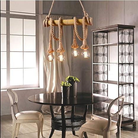 Amazing Amazon Com Decoratz Led Bar Retro Industrial Style Hemp Inzonedesignstudio Interior Chair Design Inzonedesignstudiocom