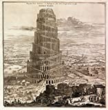Athanasius Kircher : 'The Tower of Babel' (1679) - Giclee Fine Art Print
