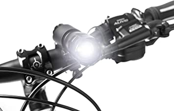 MAXIAEON 2000 Lumens Ultra Bright Bike Lights and Tail Light Set,3 Modes Bicycle Lights with 6PCS 18650 3.7V High Capacity Rechargeable Battery Batteries Charger Easy to Install
