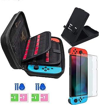 JUSONEY Kit de Accesorios Switch Compatible con Nintendo Switch ...