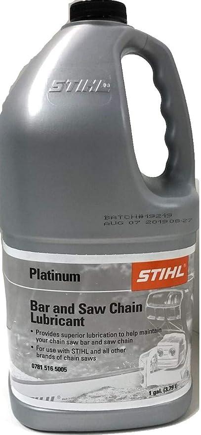 Amazon.com: Stihl Platinum Barra y cadena lubricante (1 ...