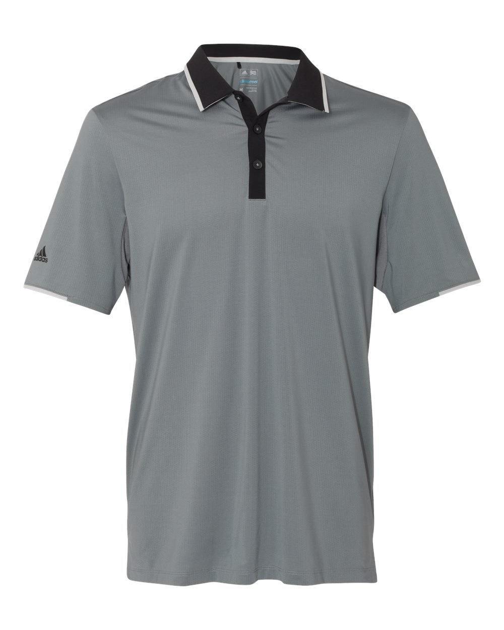 adidas Golf Mens Climacool Performance Polo (A166) -Vista Grey -3XL