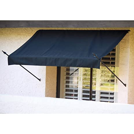 Amazon Com 4ft Awning In A Box Color Burgundy Patio Awnings