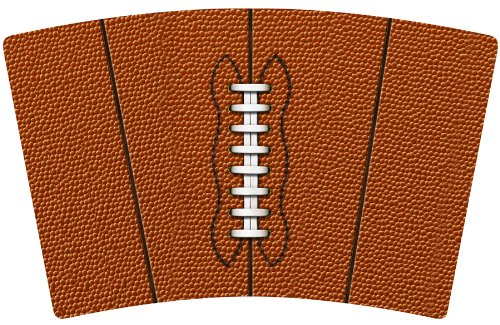 12 oz Black Mugzie FootballMini Travel Mug with Insulated Wetsuit Cover
