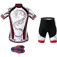 Conjunto de Ropa Ciclismo Manga Larga Culote Largos para Bicicleta MTB XIAKE Oto/ño Maillot Ciclismo para Hombre