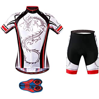Radhose Radtrikot Set Winter Jersey Pants Bicycle Wheel Bike NEW Mens Long Sleeve