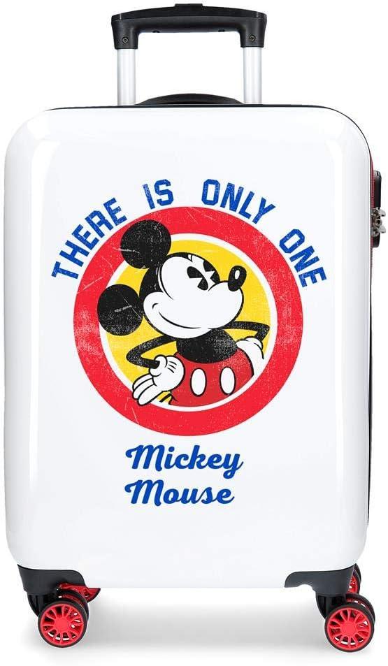 Maleta de cabina Mickey Magic only one rígida 55cm