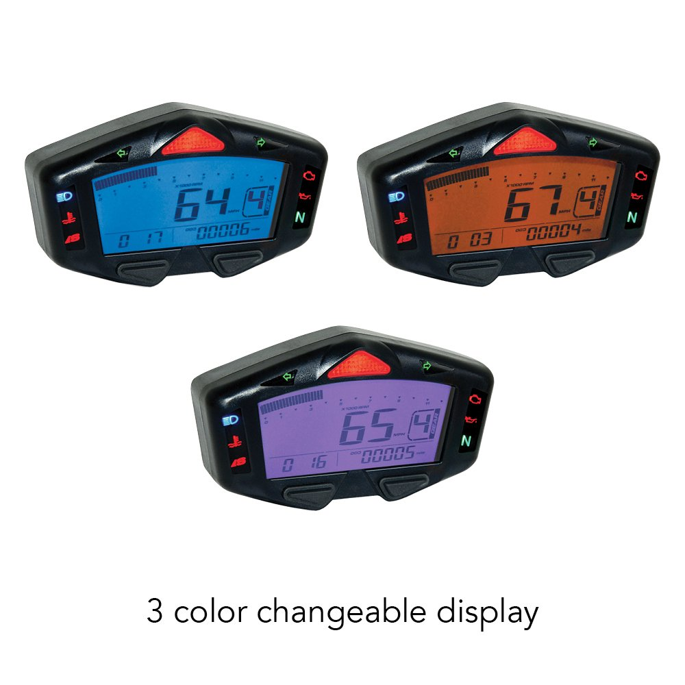 Koso Ba038000 Db 03r Multifunction Gauge By Car Wiring Diagram Motorbike