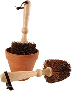 Esschert Design Flower Pot Bristle Brush - 5""
