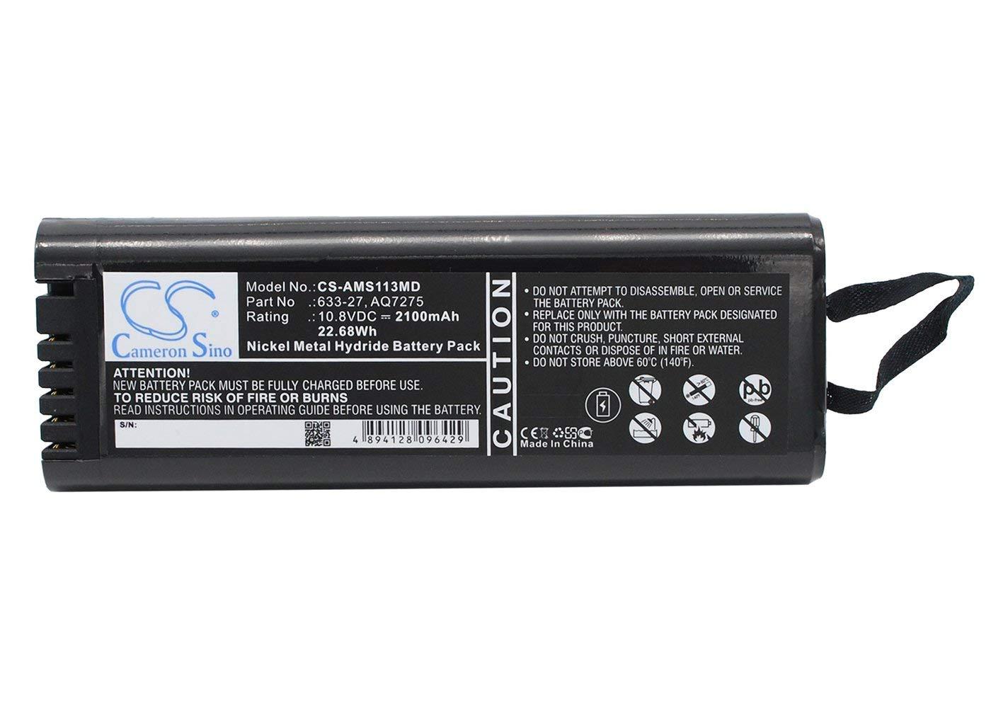 vintrons Replacement Battery for ANRITSU 633-27, YOKOGAWA AQ7275 by VI VINTRONS