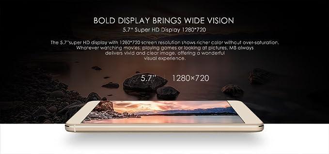 LEAGOO M8-5.7 Pulgadas 2.5D IPS Corning Gorilla Glass 4 Phablet ...
