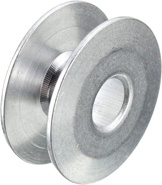Bobinas de aluminio para máquina de coser industrial para Singer Brother, herramientas para máquina plana de una sola aguja: Amazon.es: Hogar