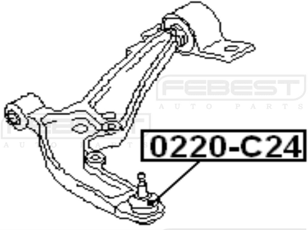 4806929235 Ball Joint Front Lower Arm For Toyota