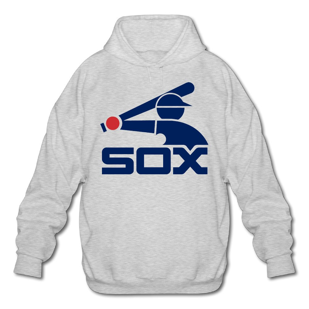 White Sox Logo Ash PTR Mens Sweatshirt