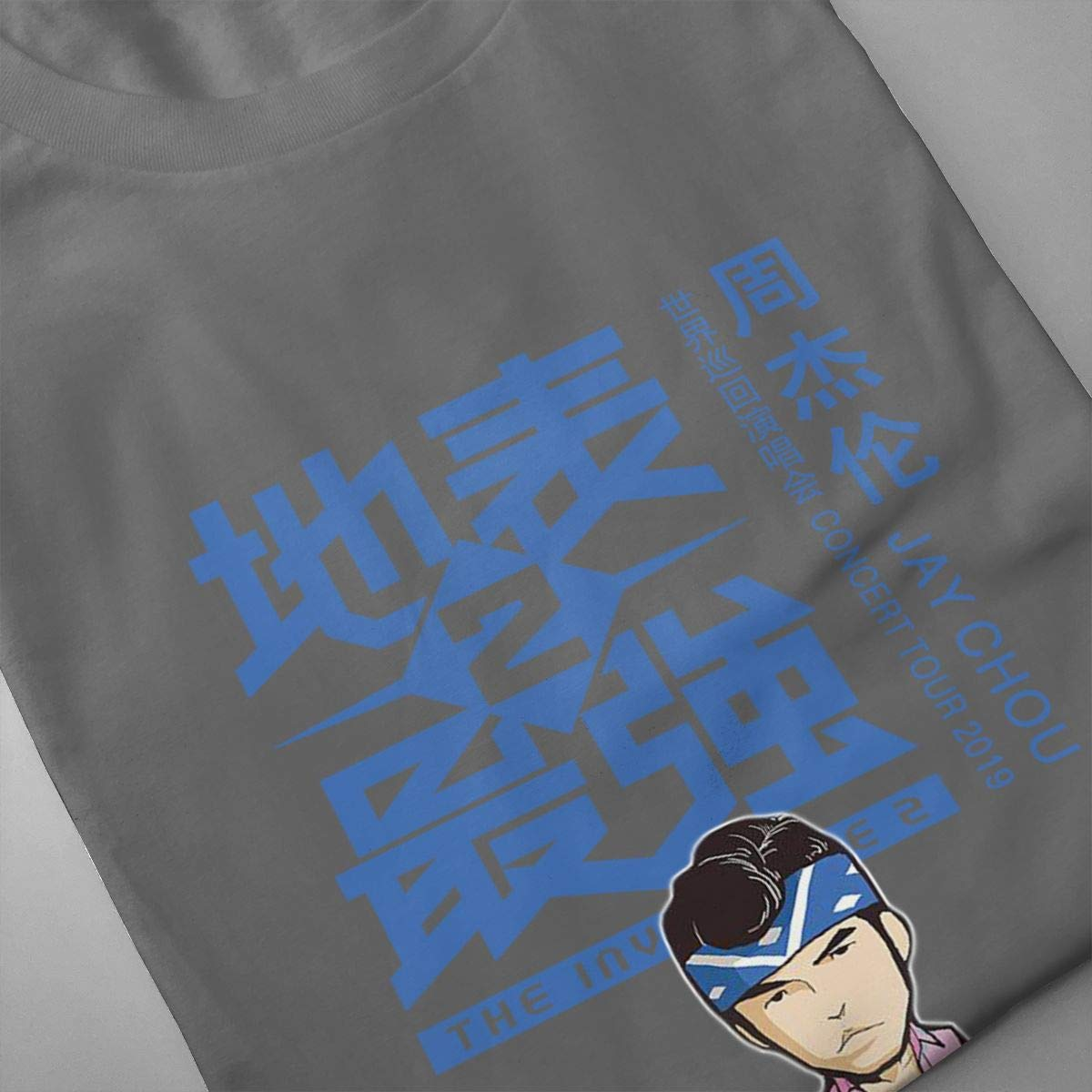 Amazon.com: ILLUSORY Jay CHOU Concert Tour 2019 O - Camiseta ...