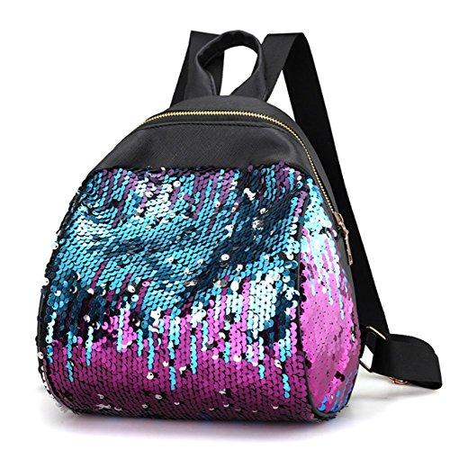 Swallowuk Bolso mochila para mujer multicolor D a