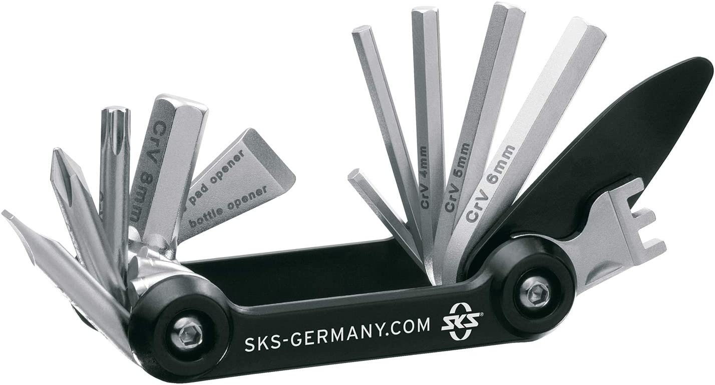 SKS Tom 14 Function Multi Tool Black