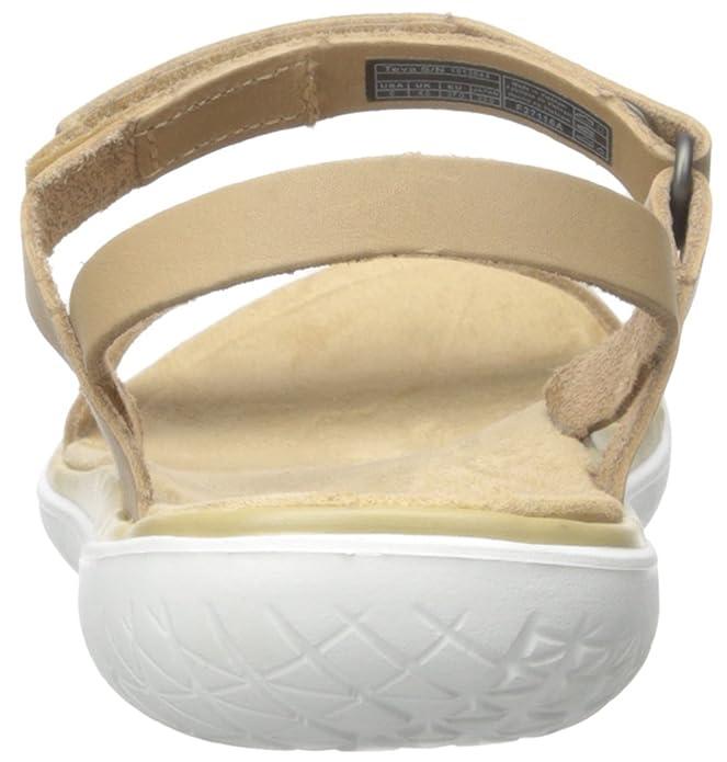 Teva de Las Mujeres Terra-Nova Lux Flotador de la Sandalia, Natural, 40 B(M) EU: Amazon.es: Zapatos y complementos