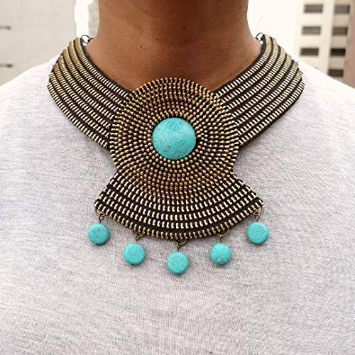 Olimpia Chictime Zipper Statement Necklace Matching Earrings Women Gifts