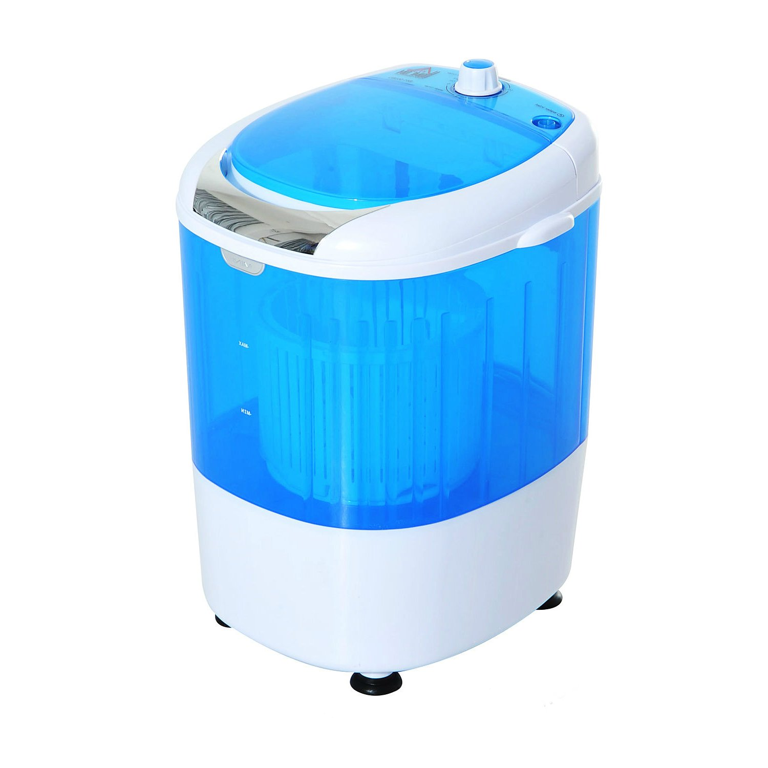 Lightweight Portable Electric Mini Washing Machine w/ Dryer Can Wash Laundry 5.5LB Max | RV Mobile Home College Dorm Washer