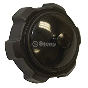 """Stens 125-179 Fuel Cap, Not Compatible with Greater Than 10% Ethanol Fuel, for New Style Tanks, Vented with shutoff, 2"""" Inside Diameter, 2"""" Height, 5"""" Width, 5"""" Depth"""