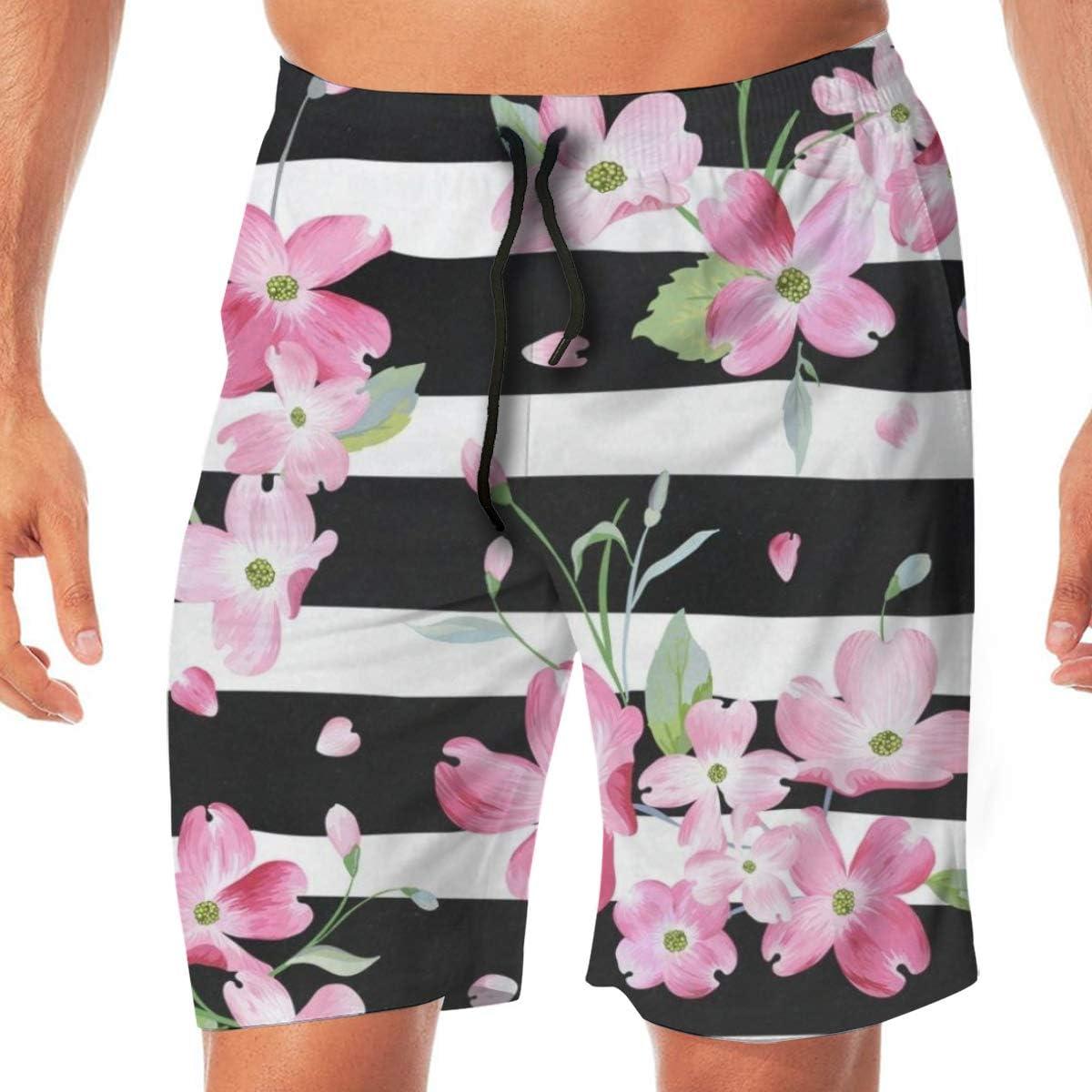 Cross Stitch Blue Colors Mens Swimwear Square Cut Swimsuits Quick Dry Swim Boxer Trunks Surf Board Shorts Briefs