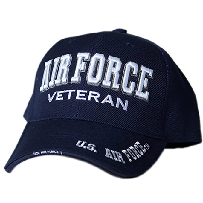 Image Unavailable. Image not available for. Color  US HONOR TM Officially  Licensed Embroidered Veteran Shadow Air Force Baseball Caps Hats 3f552ace344