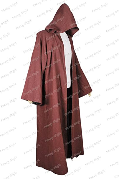 Amazon.com: Star Wars Obi Wan Kenobi cosplay costume traje ...