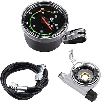 Ciclómetro Ordenador De Velocidad: Velocímetro Impermeable Para ...