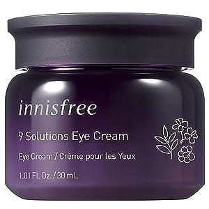 innisfree 9 Solutions Eye Cream Anti-Aging Hydrating Moisturizer