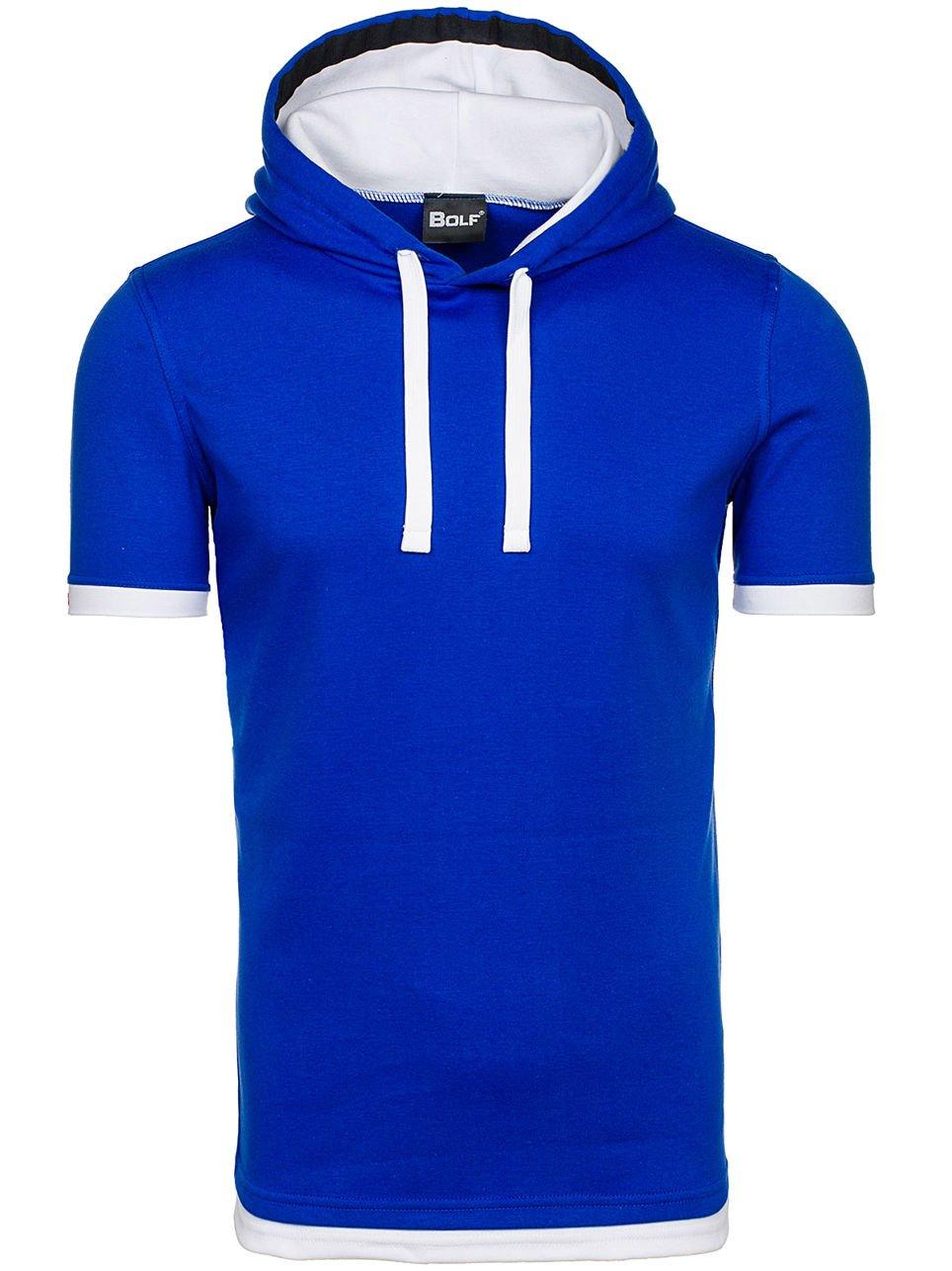 BOLF Herren T-Shirt Tee Kurzarm Sommer Classic Aufdruck Slim Kapuze BOLF 08  3C3 Motiv: Amazon.de: Bekleidung
