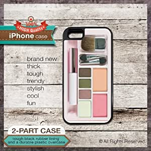 iPhone 5c TOUGH Case Make Up Set Design 1 - Cover 134