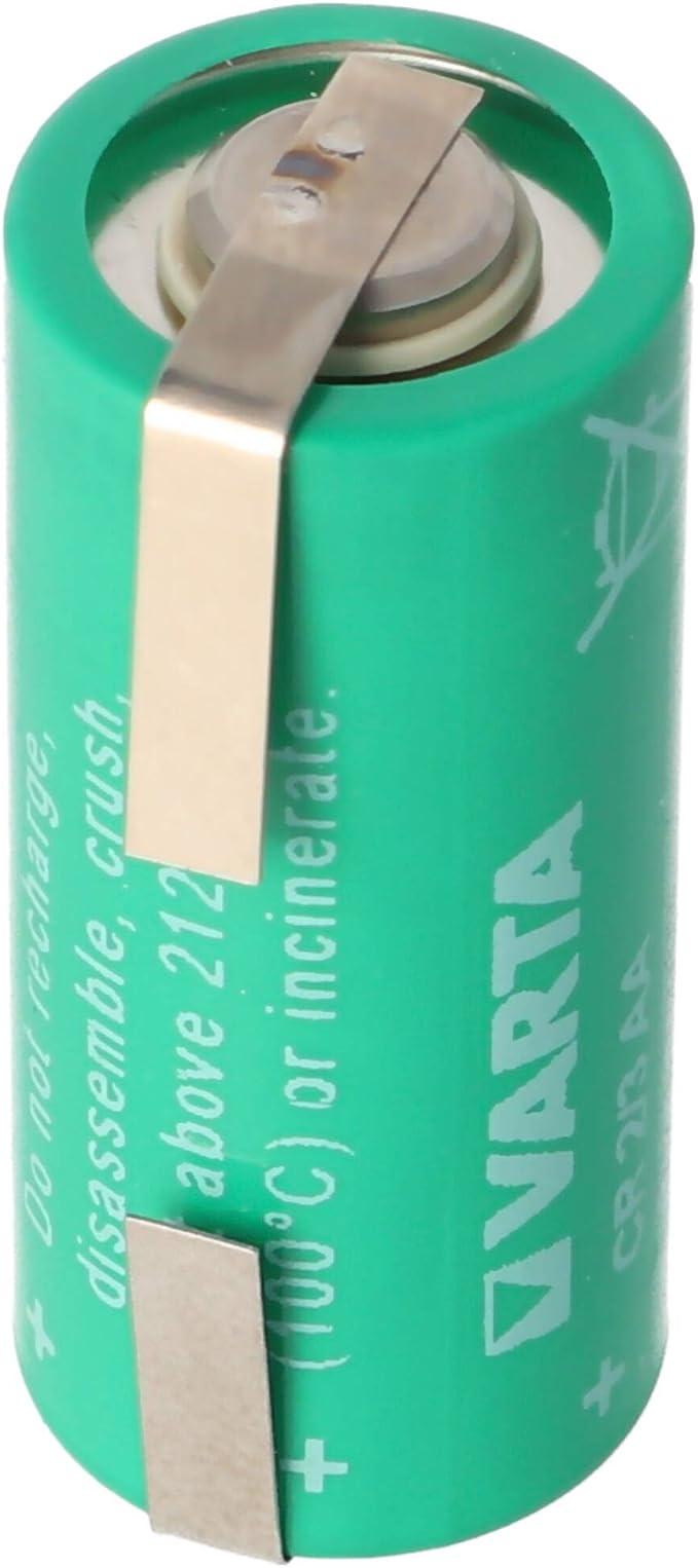 Varta Cr2 3aa Lithium Battery Varta 6237 With Solder Elektronik